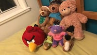 assorted animal plush toys Hagerstown, 21742