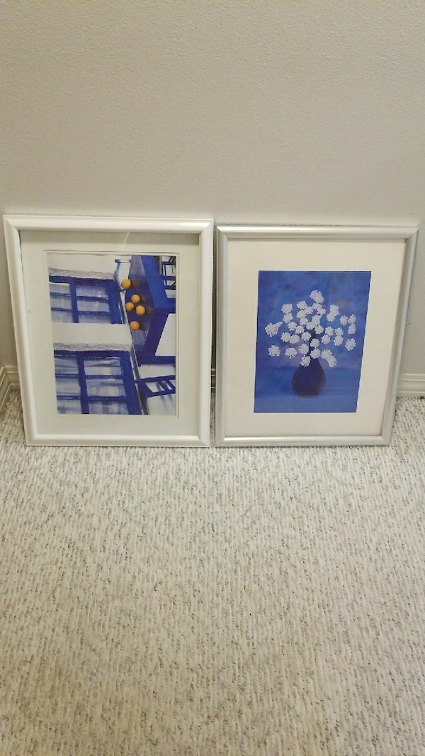 Used 16 x 20 frames and licture with removable backs for sale in ...