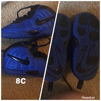 pair of blue-and-black Nike basketball shoes Tacoma, 98409