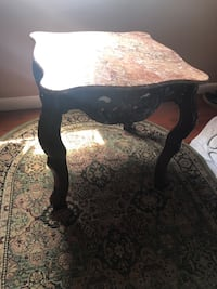 Authentic coffee marble table Elizabeth, 07202