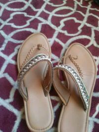 pair of brown leather sandals Bakersfield, 93305