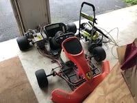 Racing go kart needs work does not run Round Hill, 20141