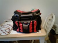 black and red tackle bag whit 5 departments and bu Hagerstown, 21740