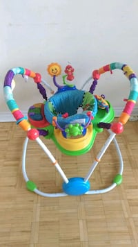 baby's multicolored jumperoo Mississauga