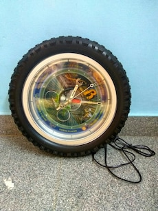 Tyre shape wall clock(New)
