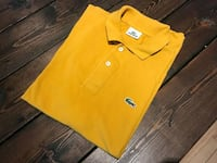 lacoste polo assorted colors