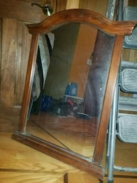 Wood Mirror (bath/bed vanity) New York, 10034