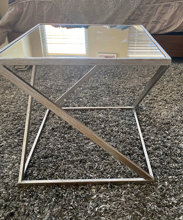 Chic Gold/Silver Mirror_Coffee table 1