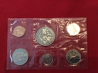 1970 Coin Set Canada Mississauga