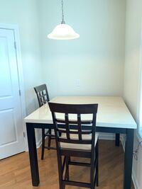 Bar table with 4 high chairs  Reading, 01867
