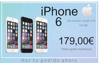 iPhone 6 - 16gb - Seminuevo Barcelone
