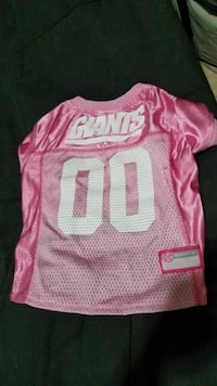NFL New York Giants Dog Jersey