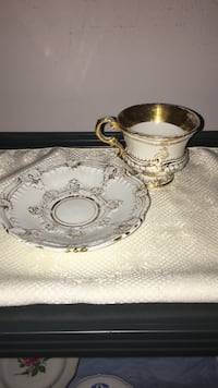 Rare 1rst Quality Meissen Cup & Saucer Frenchtown, 08825