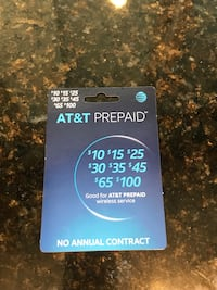 AT&T prepaid card Port Orchard, 98366