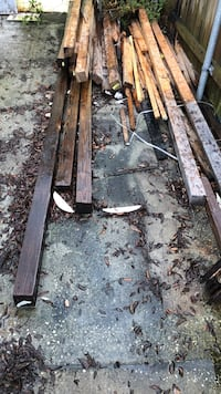 Free 4x4 fence posts. Mix of 8' and 16' West Melbourne, 32904