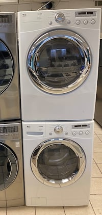 LG Front Load Washer and Electric Dryer Set