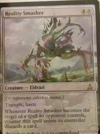 Reality smasher mtg card Antioch, 94509