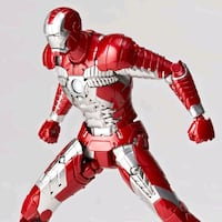 Revoltech Marvel Iron Man Mark 5 Aksiyon Figür TR, 34160
