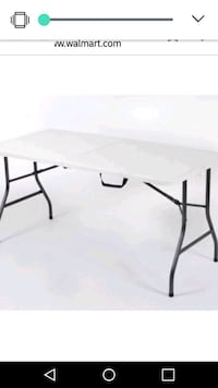 Fold in half 6ft table Troy, 12180