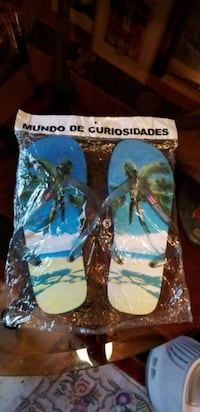 Puerto Rico Flip Flops - Size 8 (seems to fit smal Waldorf, 20602
