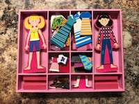 three assorted color of Barbie dolls McHenry, 60051