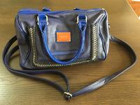 Gentle used Nicole Lee blue handbag  Middletown, 06457