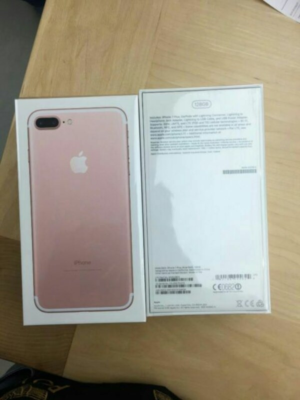 official photos 11130 e4649 Apple iPhone 7 plus in box for sale