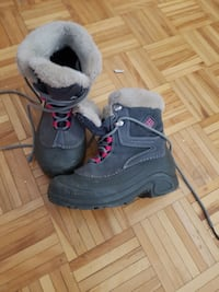 pair of white-and-gray fur boots Montréal, H3S