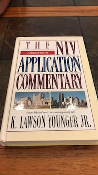 The NIV Application Commentary Judges/Ruth