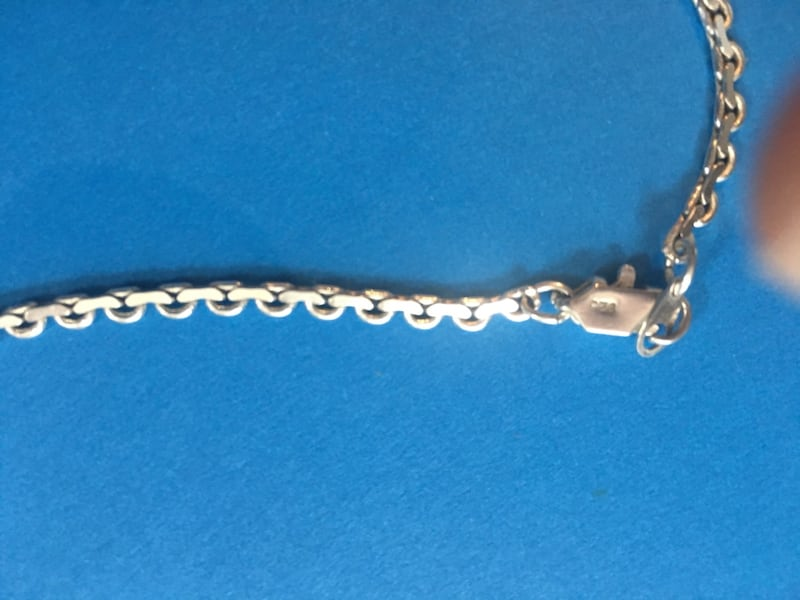Solid .925 Sterling Silver Vintage Formal Gown Necklace (Custom Made) 03208407-3d58-4e47-9113-86cd7f25c244