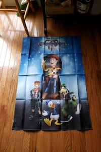 Kingdom Hearts 3 fabric poster Hagerstown, 21740
