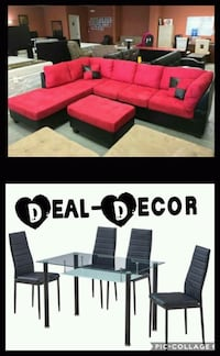 Red/Black 2 Room Combo Set Atlanta, 30315