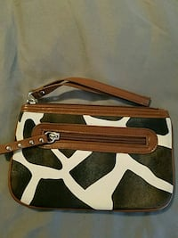 brown and white leather crossbody bag State Road, 28676