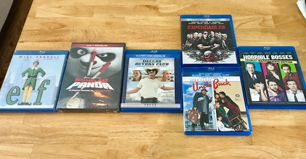 New and Used DVD's (Elf, Horrible Bosses & more)