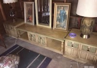 brown wooden framed glass display cabinet Bloomfield Hills, 48302