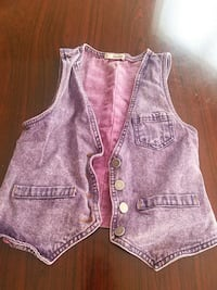 Purple denim vest  Las Vegas, 89142