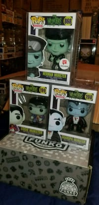 Munsters funko pop lot (FIRM PRICE) Toronto, M1L 2T3