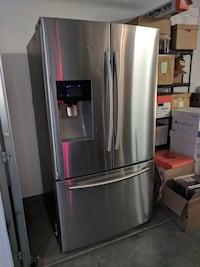 stainless steel french door refrigerator Los Angeles, 90046