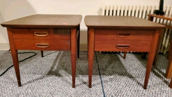Lane Mid Century Modern End Tables