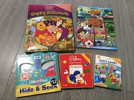 5 look and find books