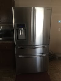 Stainless steel french door refrigerator Dallas, 75241