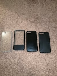 Price Reduced- IPhone 8Plus Cases ($25 for all 4 cases!) Kingsport, 37664