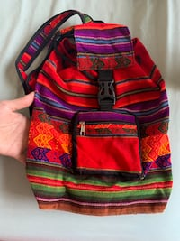 Authentic Peruvian small backpack Centreville, 20120