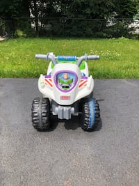 BUZZ LIGHTYEAR Ride-On 4-Wheeler ATV