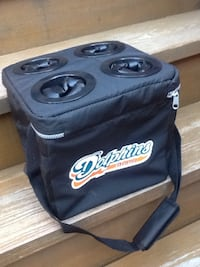 Miami Dolphins / Miller Lite 6-Pack Collapsible Cooler Bag - 2001 - Brand New Chicago, 60622