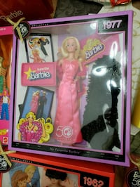 Barbie doll in pink dress in box Plano, 75075