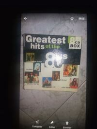 Cd greathes hits of the  Madrid, 28021