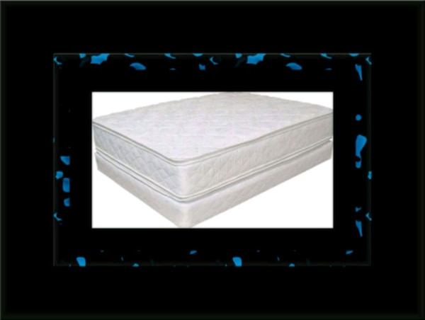 King double pillowtop mattress with splitbox