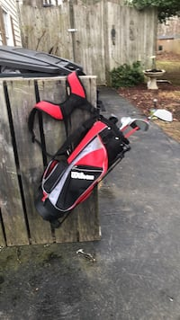black and red golf bag Whitinsville, 01588