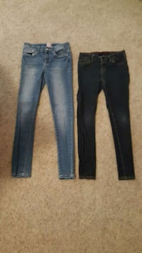 gray and black denim jeans La Habra, 90631